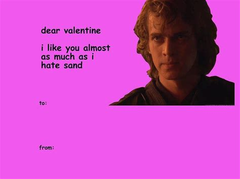 Star Wars Valentine Meme Cards