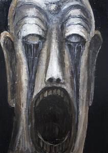 """Open Mouth Buddha, shedding Black Tears"":New, religious ..."
