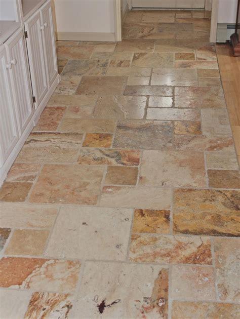 tiled kitchen floor ideas brown tiled kitchen floors brown marble tile kitchen