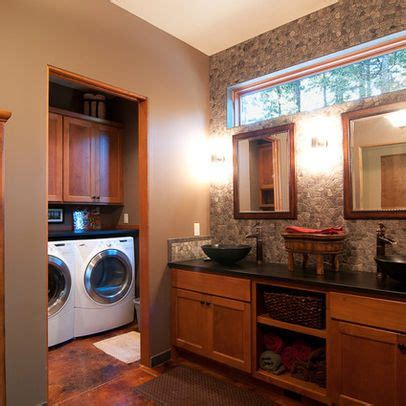 Bathroom Laundry Combos Design Ideas, Pictures, Remodel
