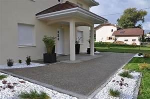 Entrée Maison Exterieur : decoration exterieur entree maison ~ Farleysfitness.com Idées de Décoration