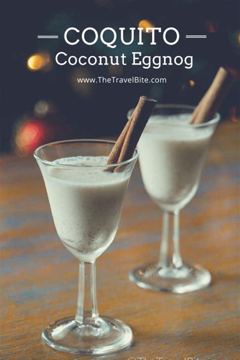 coquito recipe cocktail recipes coconut eggnog