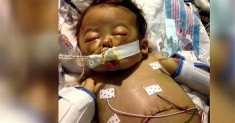 quand mettre bébé dans sa chambre ce bébé mourant se repose dans sa chambre d hôpital avec