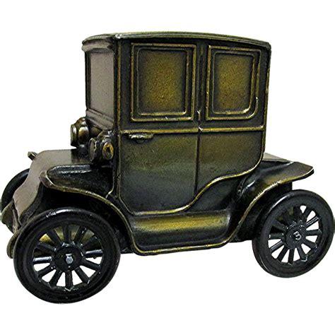 car bank  baker electric car cast metal  drury  ruby lane