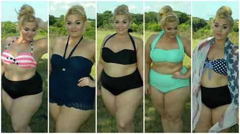 una lady como tú swimsuit plus size swimwear lookbook youtube