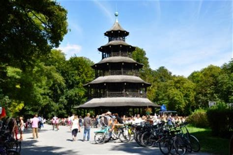 Englischer Garten München Chinesischer Turm Anfahrt by Sehensw 252 Rdigkeiten