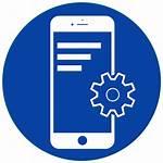 Mobile Icon Development App Ui Application Software