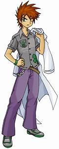 Pokemon Trainer- Gary by Naorui on DeviantArt