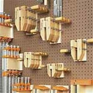 PEGBOARD WALL STORAGE WOODWORKING PLAN woodworking plans