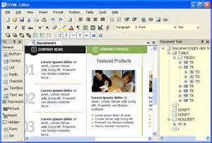 html designer html editor