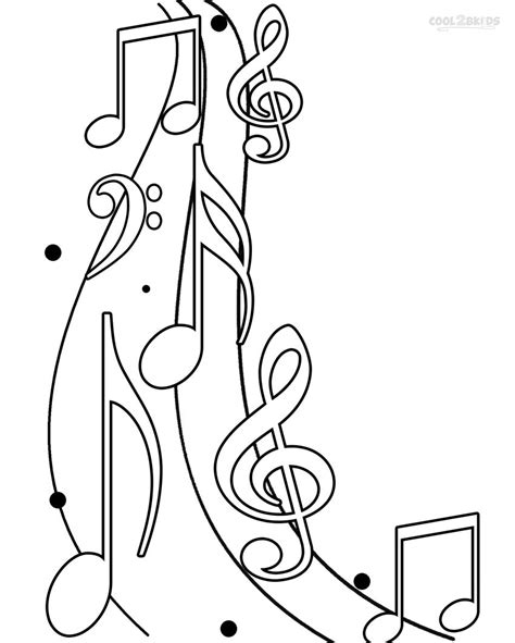 note coloring pages    print