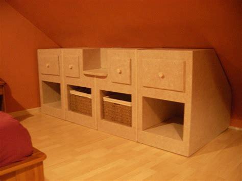 chambre combles rangements sous pente meubles en angers