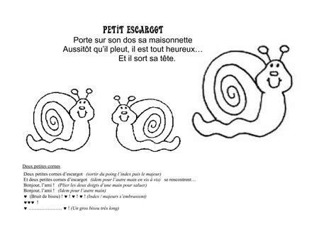 calam 233 o petit escargot
