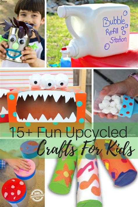 15 Fun Upcycling Ideas For Kids  Maybe I Will