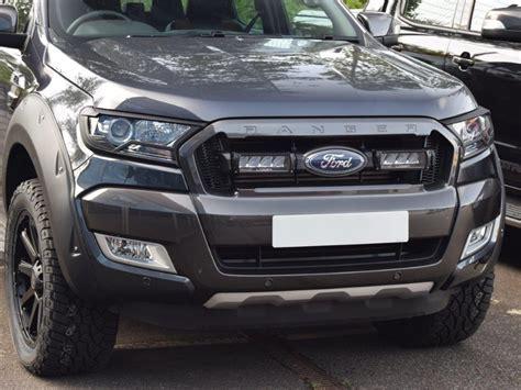 ford ranger tuning hardman tuning front grille kit for ford ranger 2016