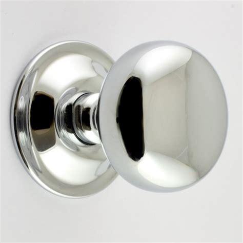 chrome door knobs concealed fix bun shape architectural quality mortice