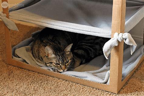 cat hammock diy make a simple diy cat hammock 183 one thing by jillee