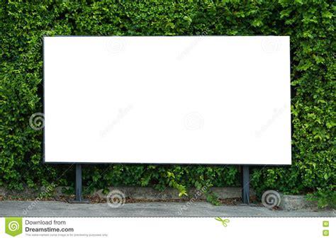 billboard template blank billboard mockup template for advertisement present stock photo image 73086856