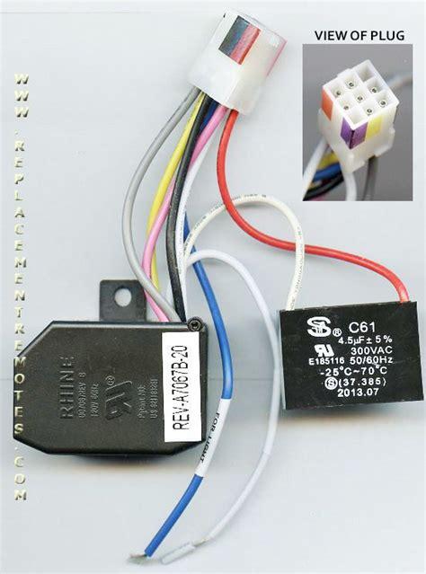 hton bay ceiling fan receiver wiring diagram buy hton bay ceiling fan receiver module
