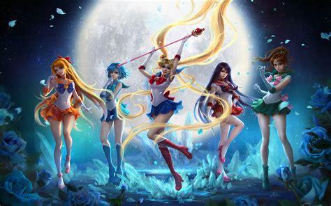 Anime Sailor Moon Wallpaper - bishoujo senshi sailor moon anime series wallpaper