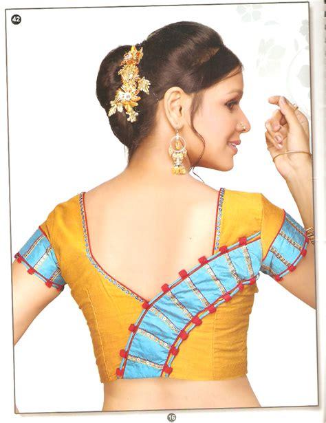 Latest Blouse Back Neck Designs Images, Anjali Blouse Back ...