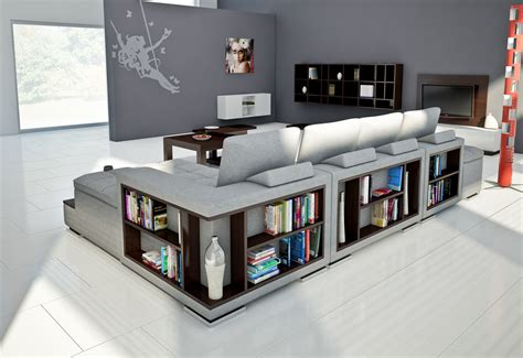Sofa Bookcase by Comfort A Corner Sofa With A Bookcase