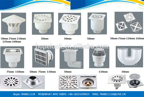 pvc trap types square plastic pvc hdpe floor trap in drains floor trap