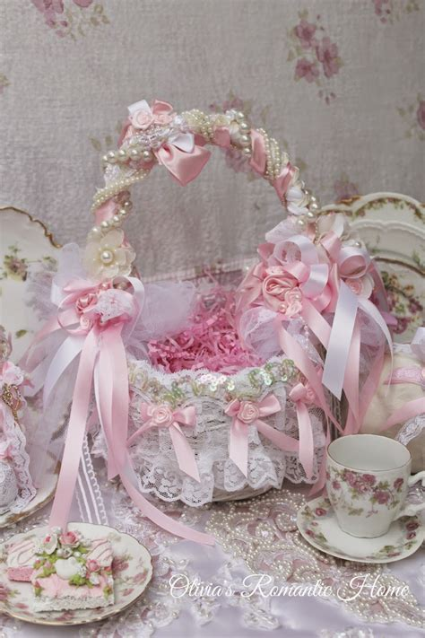 shabby chic basket olivia s romantic home glam easter baskets