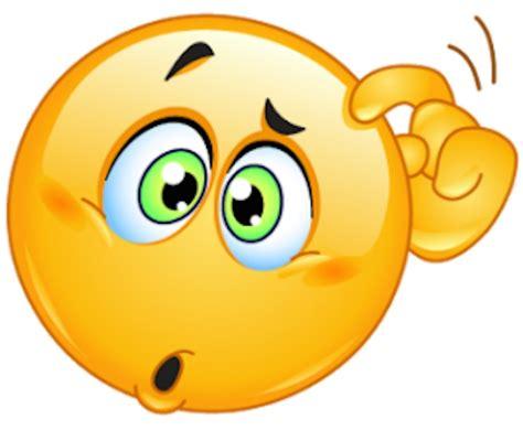 thinking clipart free emoji thinking clipart clipartxtras