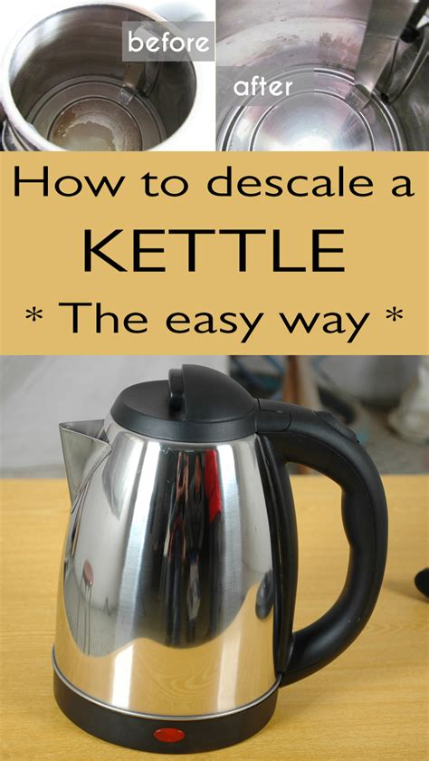 descale  kettle  easy  cleaningtutorials