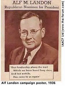 Mr. Mike's ... Alf Landon Famous Quotes