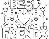 Coloring Pages Friend Friends Printable Sheets Colorings Getcolorings Getdrawings sketch template