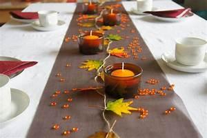 Tischdeko Selber Machen Herbst : tischdeko herbst in braun tischdekoration im herbst ~ Orissabook.com Haus und Dekorationen