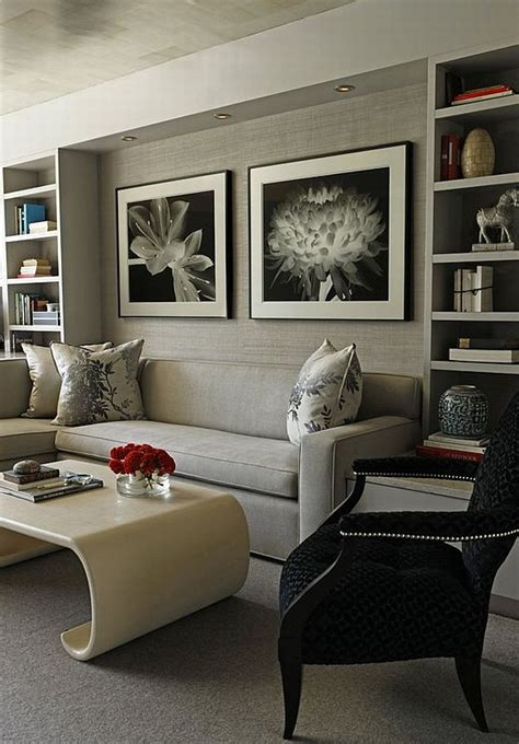 A green accent wall is a great place to start. 21 Gray living room design ideas