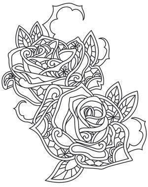 gossamer woods thorny rose design uth10088 from