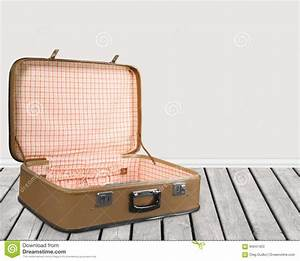 Open Suitcase Stock Photo - Image: 60947423