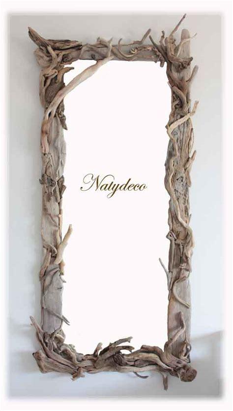 miroir bois flott 233