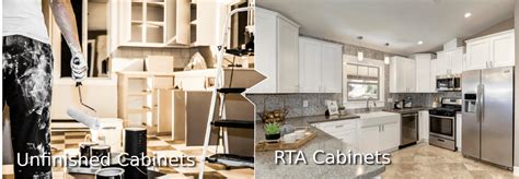 rta unfinished kitchen cabinets unfinished kitchen cabinets vs rta cabinets the
