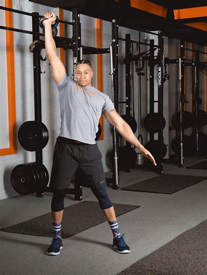 Kettlebell Windmill Workout Total Exercises Strength Moves