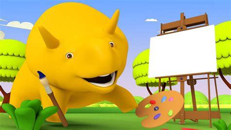 apprendre les formes dino le dinosaure dessin anime
