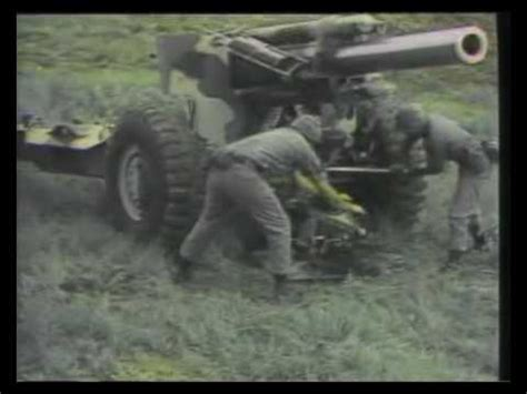 mm towed howitzer youtube