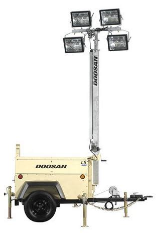 Light Tower For Sale by Doosan Light Tower For Sale Doosan Portable Light Tower