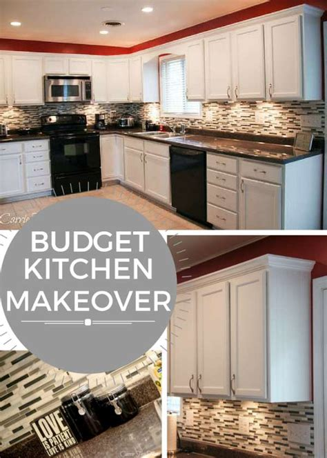 do it yourself kitchen makeover hometalk budget kitchen makeovers on a countertop garage makeovers