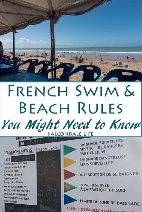 french beach swim rules swimming france need know pools pool falcondalelife might swimwear lifeguard laws both