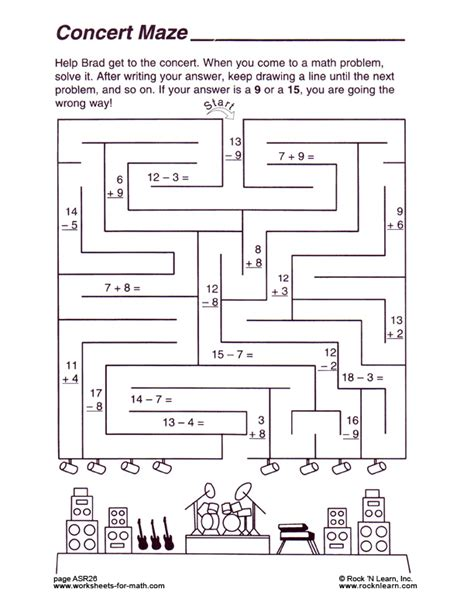 multiplication math maze worksheets math mazes dr mike s