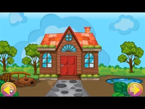 gk cartoon garden house escape walkthrough gamesking