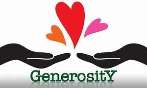 generosity clip art Quotes