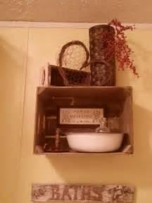 primitive bathroom ideas primitive bathroom decor for the home