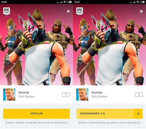 como instalar fortnite en tu dispositivo android