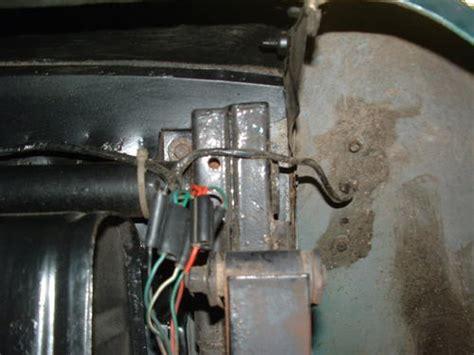 rear wiring harness location mga forum mg experience